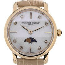 Frederique Constant Slim Line Moon Phase Mother of Pearl...