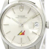 Tudor Polished  Prince Oyster Date Phillipines Air Line Watch...