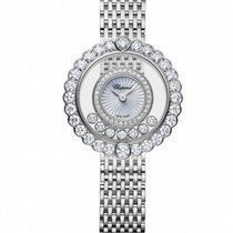 Chopard Happy Sport Icons 18K White Gold & Diamonds Ladies...