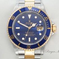 Rolex Submariner Date 16613 T Stahl Gold 750 Rehaut 2008...