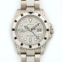 Rolex White Gold GMT-MASTER II Diamond Watch Ref. 116759
