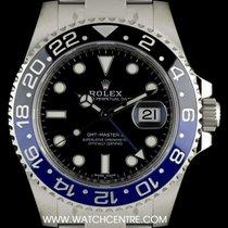 Rolex S/S Unworn Day & Night GMT-Master II B&P 116710BLNR