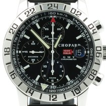 "Chopard ""Mille Miglia Chronograph GMT"" Steel 42,5mm. case"
