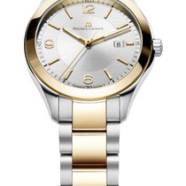 Maurice Lacroix Miros Date Ladies Steel Gold Case and Strap,...