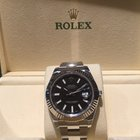 Rolex Datejust II 41mm Black index Dial