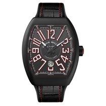 Franck Muller Vanguard black and red Watch