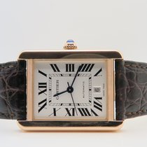 Cartier Tank Solo XL 18k Rose & Steel (Box&Papers)