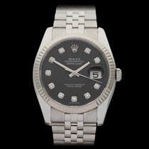 Rolex Datejust Stainless steel & 18k white gold Unisex 116234
