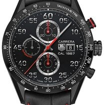 豪雅 (TAG Heuer) Carrera Calibre 1887 Automatic Chronograph 43mm...