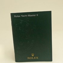 Rolex Yach-Master II Manual Info Booklet 2008 German