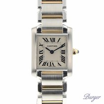Cartier Tank Francaise PM Gold/Steel