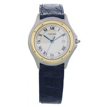 Cartier Cougar Ronde 18k Yellow Gold & Stainless Steel