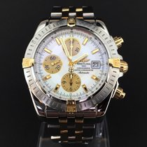 Breitling Chronomat Evolution Pilotband Gold Steel 44 mm (2005)