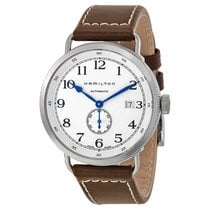 Hamilton Men's H78465553 Navy Pioneer Silver Dial Watch
