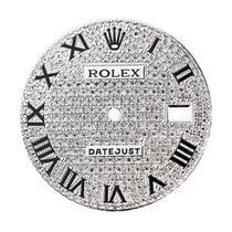 Rolex DateJust 41mm Diamond Pavé Custom Dial