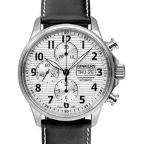 Junkers Tante Ju Auto Chronograph Watch Valjoux 7750 42mm...