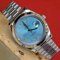 Rolex Oyster Perpetual Day-Date II Platinum 41 mm Watch