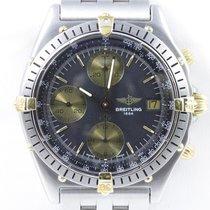 Breitling Chronomat Stahl Gold Chronograph Automatik Stahlband