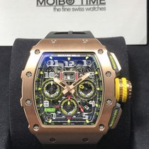 리차드밀 (Richard Mille) RM11-03 FULL Red Rose Gold Annual...