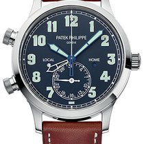 Patek Philippe Grand Complications Calatrava Pilot Travel Time...