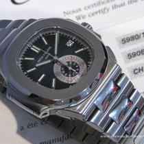 Patek Philippe : Out Of Production Chronograph Nautilus Bleu...