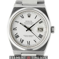 Rolex Datejust Oysterquartz Stainless Steel White Dial 36mm 1980