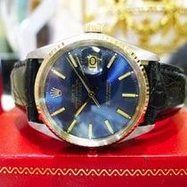 Rolex Oyster Perpetual Datejust Gold Dial Steel & Yellow...