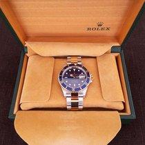 Rolex - Submariner oro - acciaio fondo blu - Unisex - 2000-2010