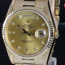 롤렉스 (Rolex) デイデイト 18238A DAY DATE K18YG Diamond