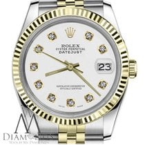 Rolex Lady Rolex 26mm Datejust 18k Yellow Gold Stainless Steel...