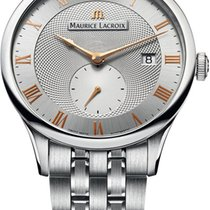 艾美 (Maurice Lacroix) Masterpiece Mens Stainless Steel Watch...