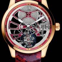 Ulysse Nardin CLASSIC SKELETON TOURBILLON Pink Gold Leather...