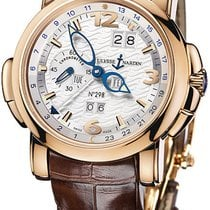 Ulysse Nardin GMT Perpetual 18K Rose Gold Men's Watch