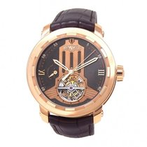 Dewitt Twenty-8-Eight Regulator 18k Rose Gold Automatic Men's...