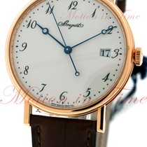 Breguet Classique Automatic, White Dial - Rose Gold on Strap
