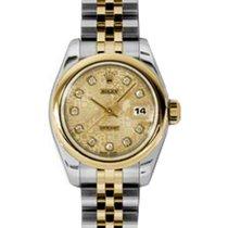롤렉스 (Rolex) Lady-Datejust 26 179163-CHPJDJ Champagne Jubilee...