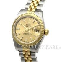 """ロレックス (Rolex) Datejust Champagne Yellow Gold Steel 26MM """"V..."""