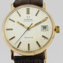 Omega Vintage Automatic 18k Gold