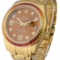 Rolex Unworn 86348SAJOR-000 39mm Yellow Gold Masterpiece with...