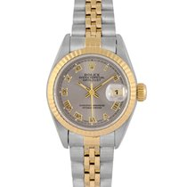 Rolex Datejust Ladies Steel & Gold with Grey Dial 69173,...