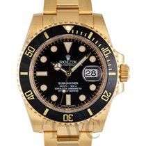 롤렉스 (Rolex) Submariner Black/18k gold Ø40mm - 116618LN