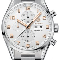 豪雅 (TAG Heuer) Carrera Calibre 16 Automatic Chronograph 43mm...