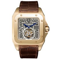 Cartier Santos 100 Tourbillon XL in Rose Gold
