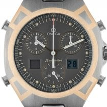 Omega Seamaster Titan Gelbgold Chronograph 1/100stel Quarz...