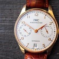 IWC Schaffhausen 18k Rose Gold Portuguese 7 Days