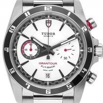 Tudor Grantour Chronograph Flyback Stahl Automatik Armband...