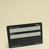 Hublot Warranty Card