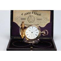 A. Lange & Söhne Taschenuhr, 750/-, Ankerchronometer