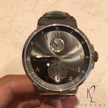 Ulysse Nardin Marine Chronometer Manufacture Abu Dhabi Edition