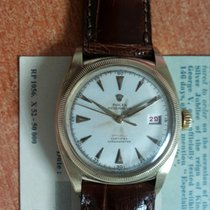 Rolex big bubble back ref.6105 officially red super oyster crown